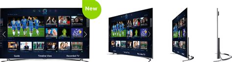 Tv Samsung F8000 samsung f8000 led smart tv with voice motion currys