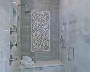 Stylish Transitional Master Bathroom Robeson Design   San Diego Interior Designers