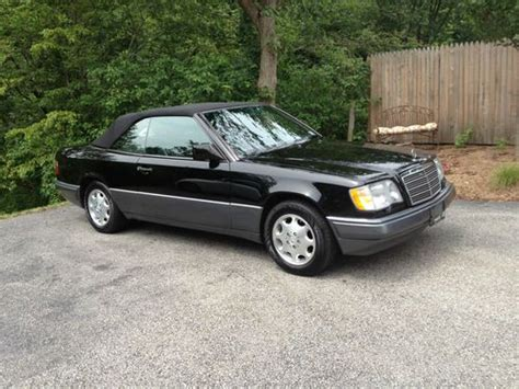 how do i learn about cars 1995 mercedes benz s class electronic throttle control find used 1995 mercedes benz e320 cabriolet in brewster new york united states for us 9 500 00