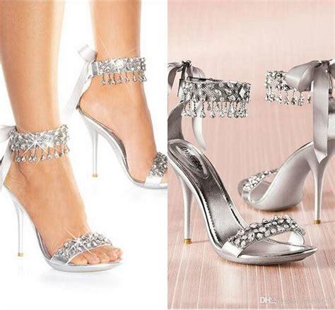 fashioned high heels silver high heels for wedding www pixshark images