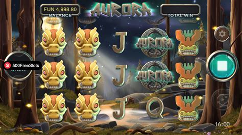 aurora slot play     freeslotscom
