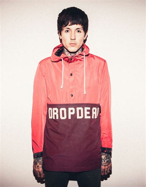 Hoodie Sweater Dropdead Oliver buy kagoule windbreaker at drop dead clothing iam only