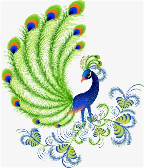 imajenes de dibujo de pavo real para bordar pintado a mano de dibujos animados hermoso pavo real