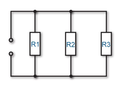 three resistors are connected in parallel with a 12v battery resources