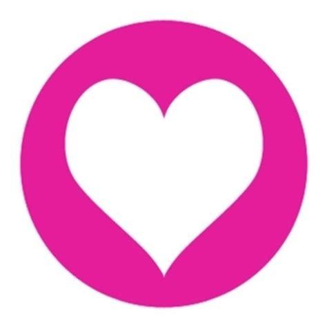 Herz Aufkleber by Sticker 10 Herz Aufkleber Sticker Pink Ein