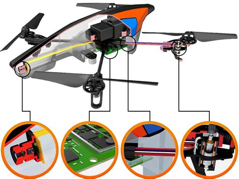 Ar Drone 2 linux based quadrocopter gains flight recorder