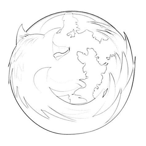 logo sketch mozilla firefox logo sketch image sketch