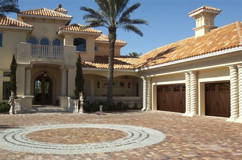 spanish style garage mediterranean and spanish style garage doors banko