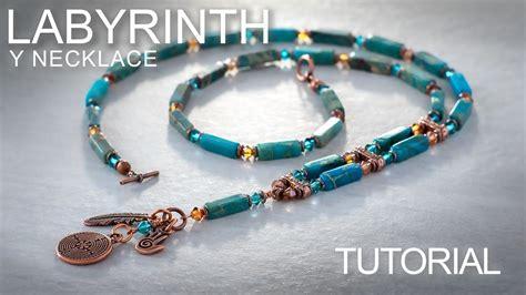 make gemstone jewelry labyrinth y necklace gemstone beading jewelry