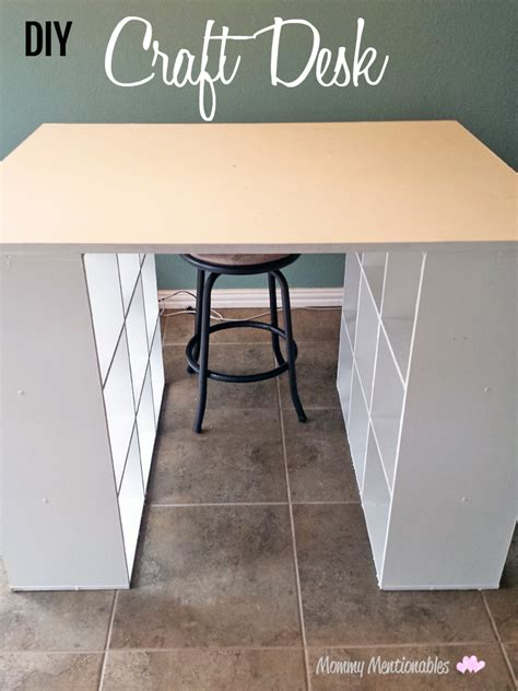 diy craft desk with storage 8 craft room ideas that will your mind