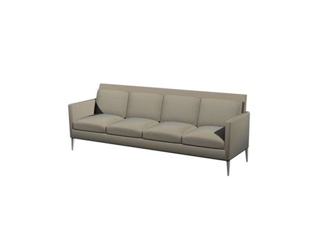 4 cushion couch 4 seater cushion couch 3d model 3dsmax files free download