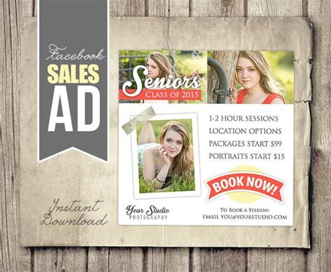 Facebook Marketing Ad Template Photography Marketing Facebook Ad Psd Photographer Photo Photography Ad Template Free
