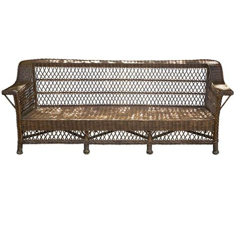 antique wicker loveseat x jpg