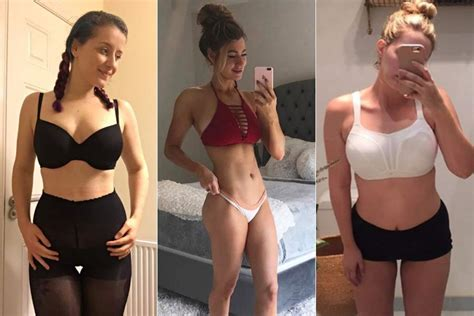 emily kinney vegan the best fake before and after body transformation photos