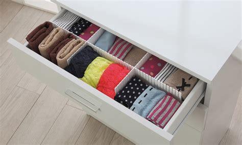 divisori cassetti divisori per cassetti flessibili groupon goods