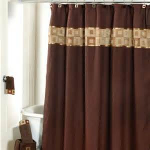 Related for brown shower curtains