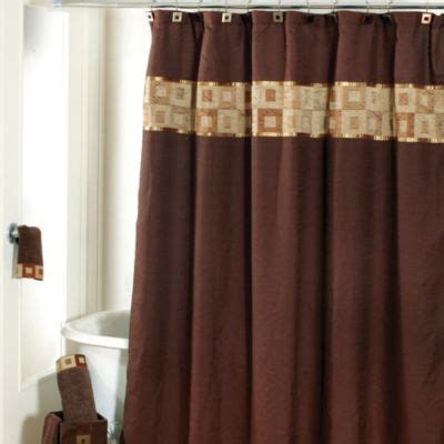 Brown Shower Curtains by Buy Brown Shower Curtains From Bed Bath Beyond