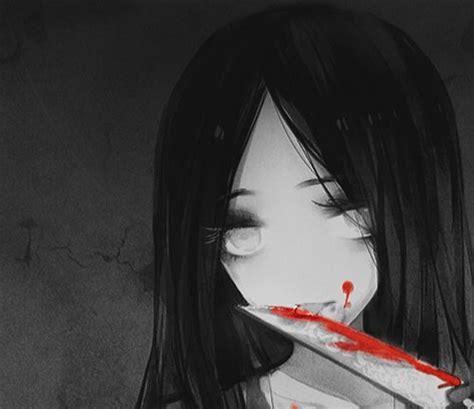 scary evil anime girls creepy anime girl anime pinterest