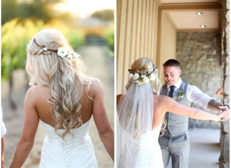 Bridal Hairstyles Half Up With Crown by Veil Tips And Faqs Archives La Wedding