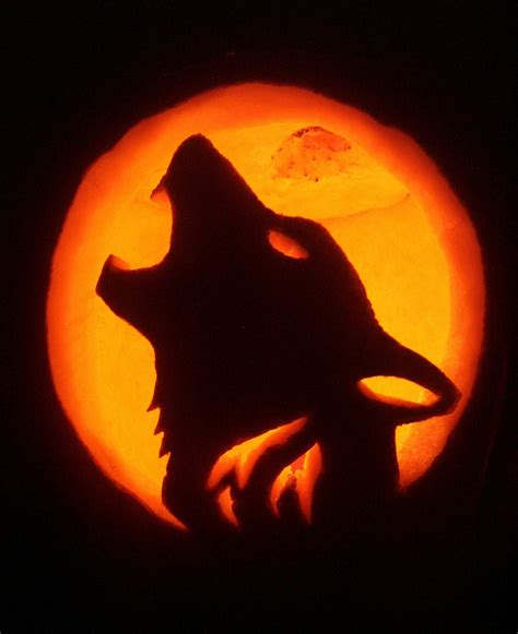 wolf pumpkin template best photos of wolf pumpkin carving templates wolf