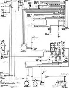 radio wire diagram 1986 chevy suburban