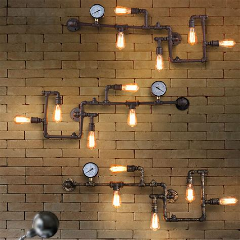 industrial wall vintage loft industrial steunk wall l retro light