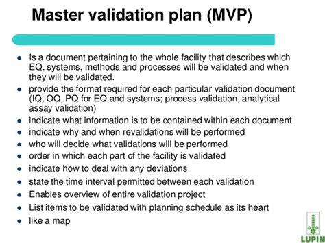Data Validation Plan Template
