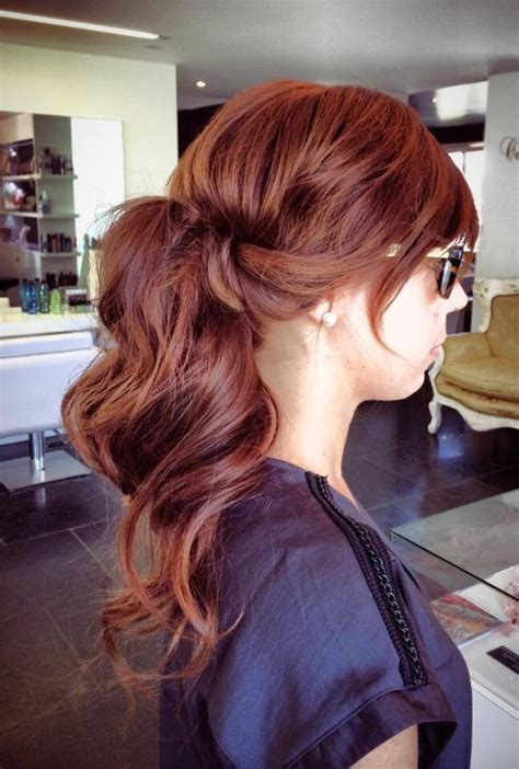 best lowlights for a matural redhead lovely natural copper hair color with dark violet