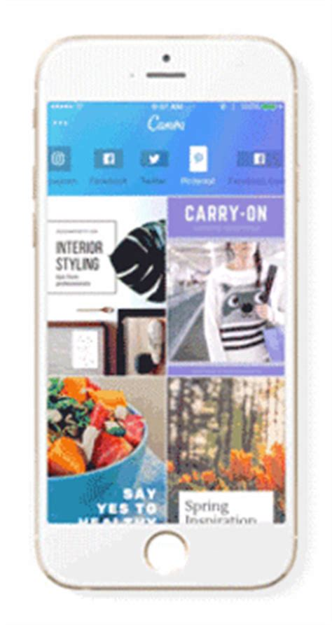 canva gif the new canva for iphone app is finally here