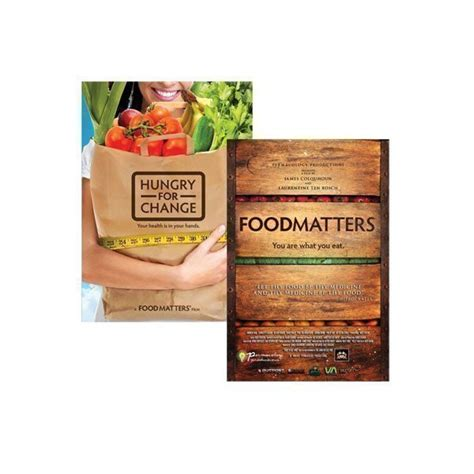 Food Matters Detox Review by Food Matters Hungry For Change Dvd Pack