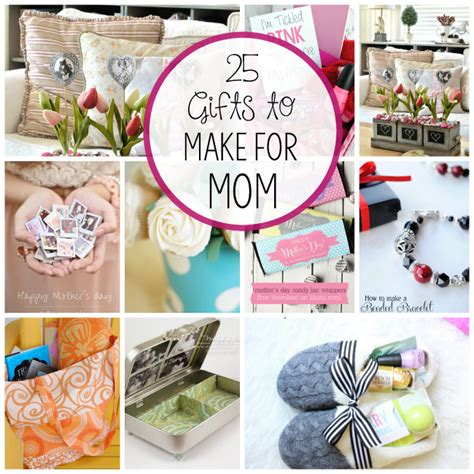 gift idea for mom homemade mother s day gifts crazy little projects