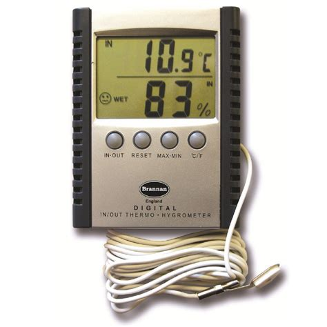 Thermometer Hygrometer Digital digital thermometer hygrometer indoor outdoor brannan 13 420 3