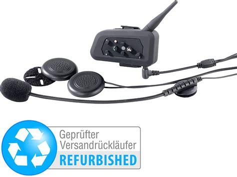 Motorrad Sprechanlage Test callstel motorrad sprechanlage motorrad intercom headset