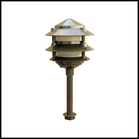 Pagoda Landscape Lights Pagoda Fixture 3 Tier 20 Watt 12 Volt Jc Landscape Lights Architect Design Lighting