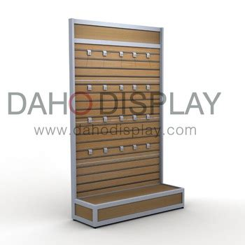 slatwall display rack with display shelf view slatwall display daho display product details