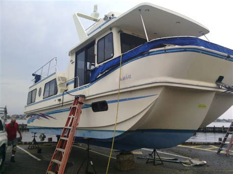 holiday mansion aft deck flush deck coastal barracuda   sale   boats