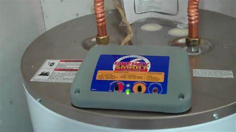 new energy smart 40 gal elec water heater