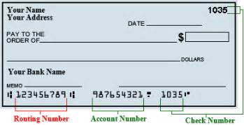 Routing Number Routing Number