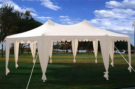 amazon com hercules canopy shelter party tent 18x20 w 29x21 octagonal octagon wedding party gazebo tent canopy white
