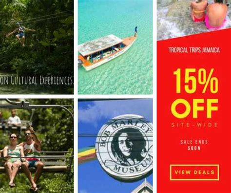 jamaica deals tropical trips jamaica jamaica tours and vacation packages