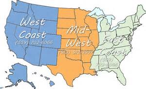 states in east coast midwest states include arkansas