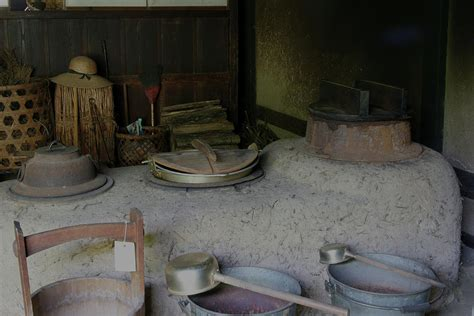 japanese traditional kitchen traditional japanese kitchen photograph by masami iida