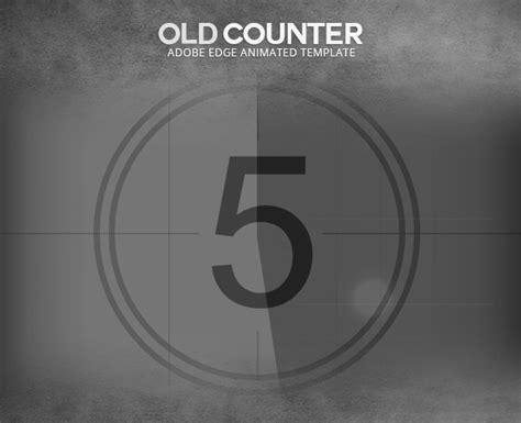 edge animate  film counter template  touringxx codecanyon
