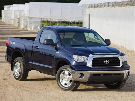 Toyota Tundra Fuel Economy Toyota Tundra Technical Specifications And Fuel Economy