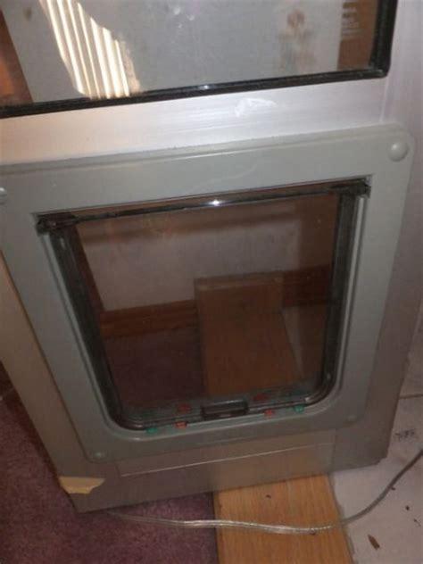 Doggie Door Insert by Lot Detail Door Insert For Sliding Glass Door