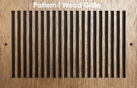 pattern cut wood grilles wooden grills wood vent covers patterncut