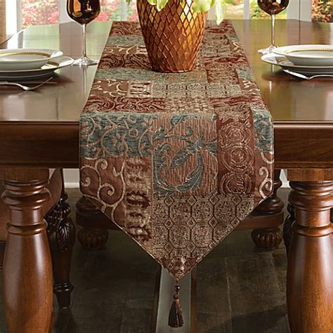 bed bath and beyond table runners galleria table runner collection bed bath beyond