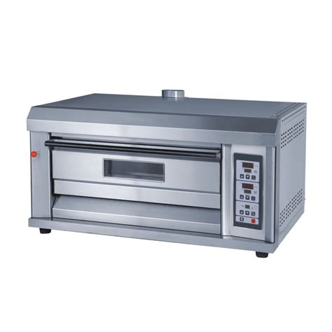 Oven Gas 2 Tray 1 deck 2 trays 350 176 c 75w all s s professional gas baking