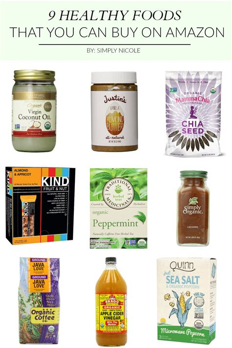 What Food Can You Buy From The Supermarket To Block The Body Of Dht 5ar Naturally | 9 healthy foods that you can buy on amazon simply nicole