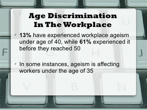 age discrimination powerpoint